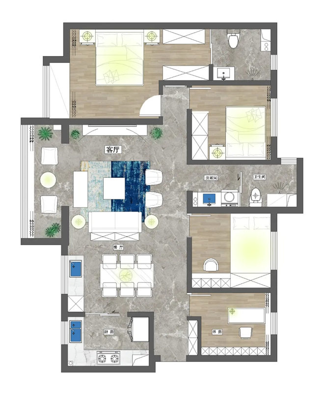 家庭装修策划案例优化篇
